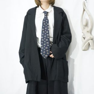 【Salvatore Ferragamo】penguins pattern tie *