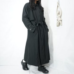 front layer design mode black coat
