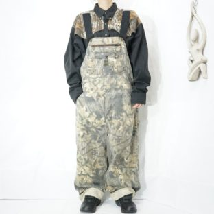 real tree camouflage wide overall *