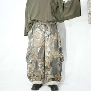 realtree multi side pocket wide cargo pants