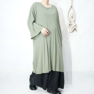 XXXXXL monster size toromi drape summer knit *