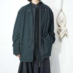 【Atozome】black overdye Tyrolean jacket *