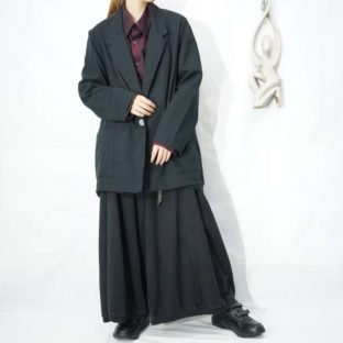 mode black easy jacket