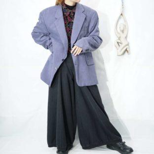 pale purple 2B silk jacket *
