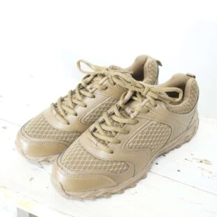 【28cm】DEAD STOCK German replica training shoes COYOTE *
