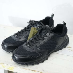 【28cm】DEAD STOCK German replica training shoes BLACK *