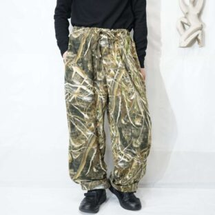 realtree camouflage fleece wide easy pants *