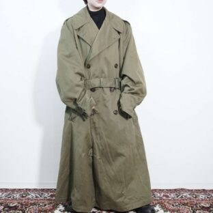 1940's special vintage US military over trench coat