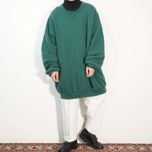 monster oversized green color sweat
