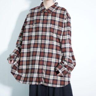 【Carhartt】NOS monster oversized good check shirt